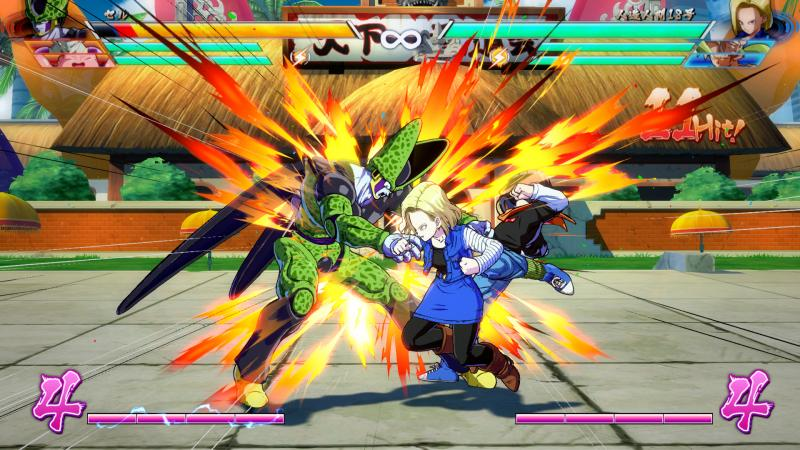 Dragon Ball FighterZ - Android 18 vs Cell (Foto: Bandai Namco)