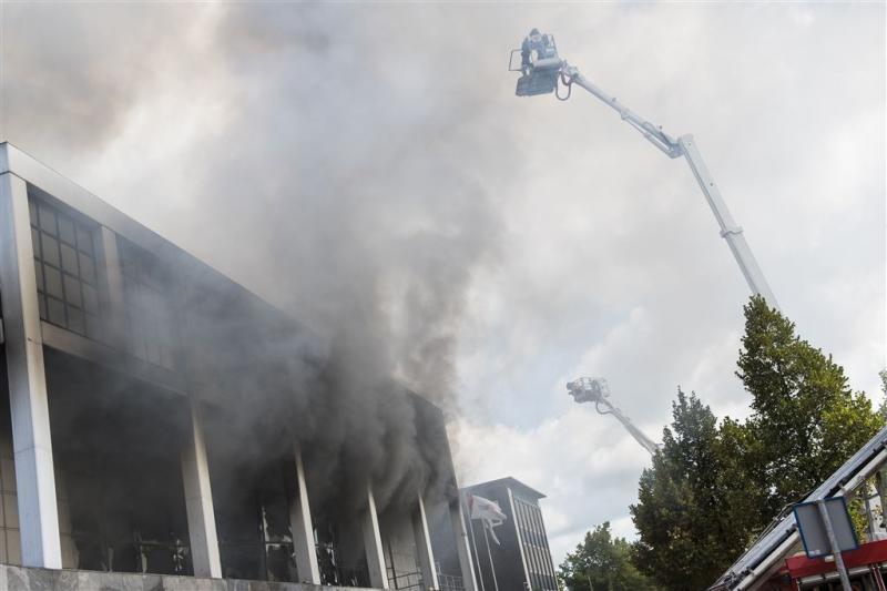Politie start onderzoek naar casinobrand