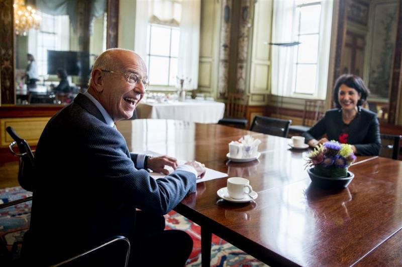 Zalm verwacht geen kabinet voor Prinsjesdag