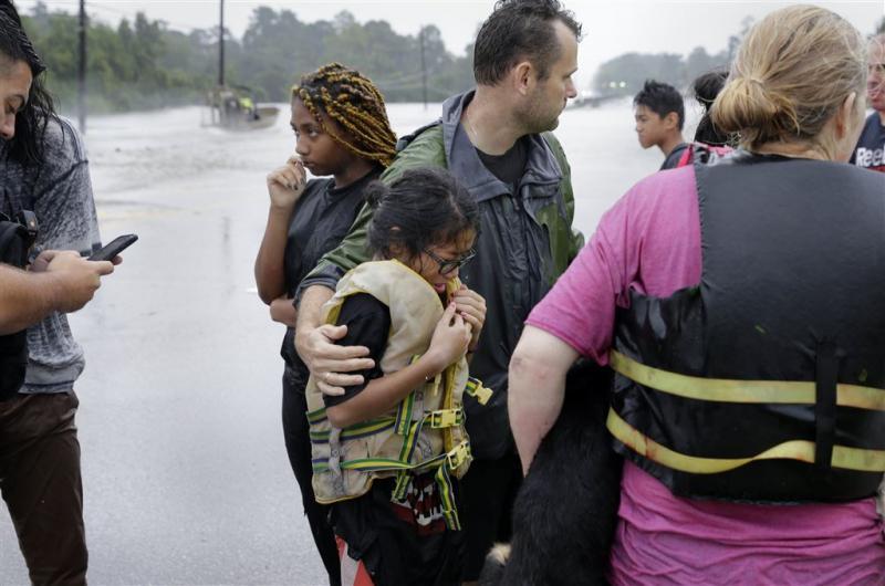 Duizenden mensen gered in Houston