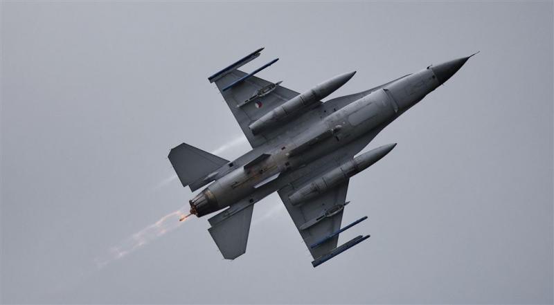 Weer Nederlandse F-16's ingezet tegen IS