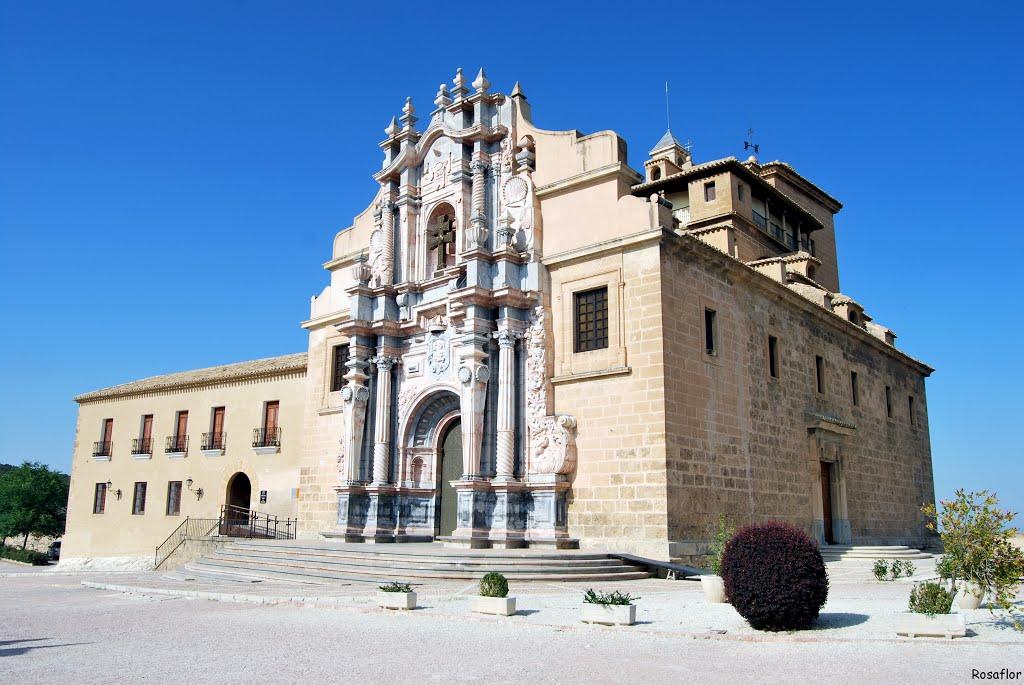 De basiliek in Caravaca (Foto: Panoramio)