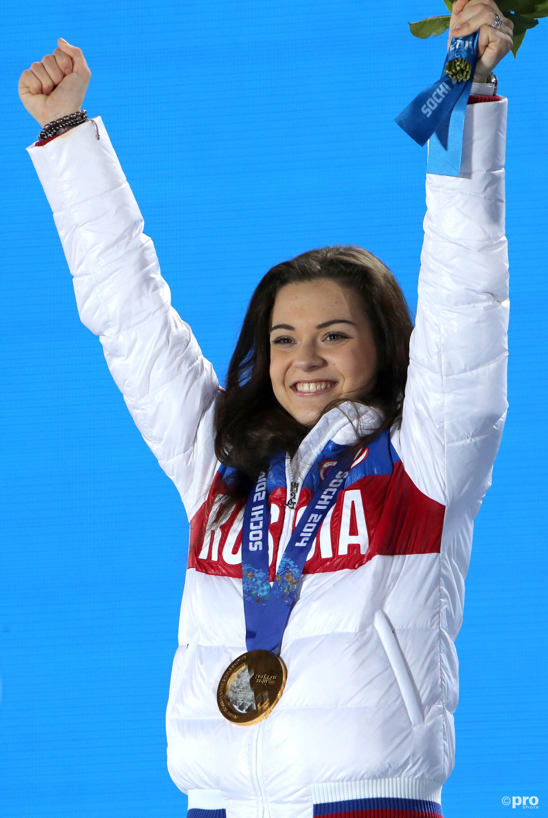 Sotnikova met het goud in Sochi (Pro Shots/Gepa)