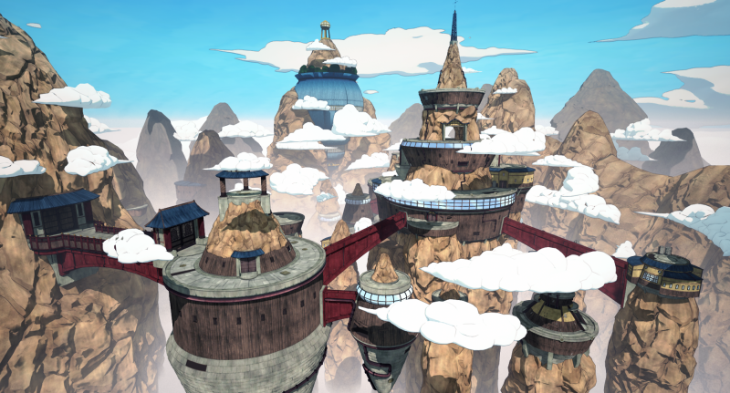 Naruto to Boruto: Shinobi Striker - map (Foto: Bandai Namco)