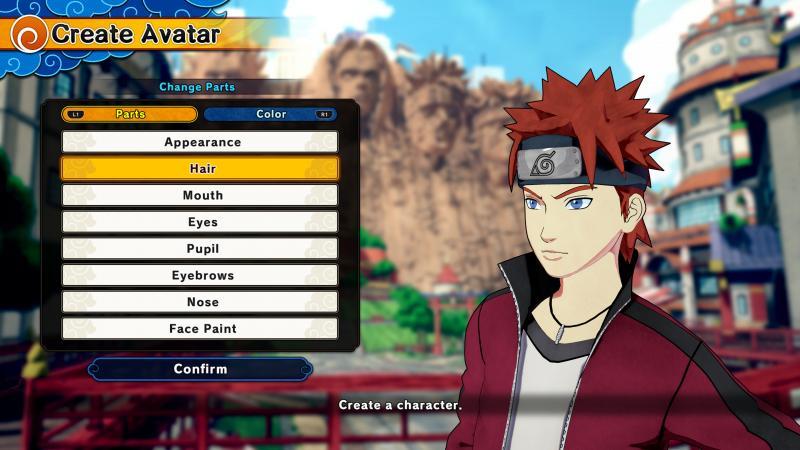 Naruto to Boruto: Shinobi Striker - Create Avatar (Foto: Bandai Namco)