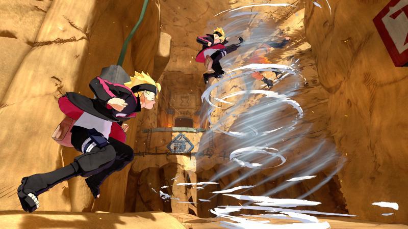 Naruto to Boruto: Shinobi Striker - Tornado (Foto: Bandai Namco)