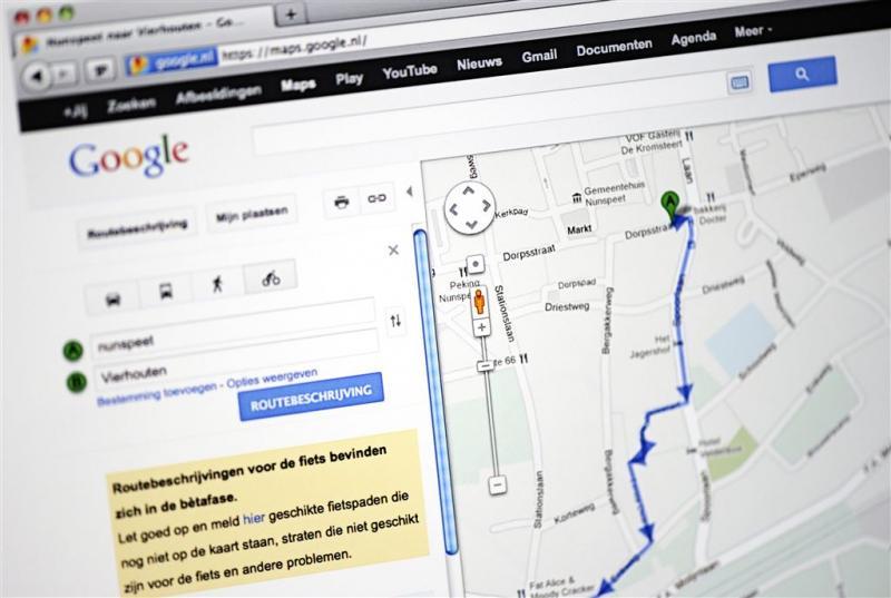 Google zoekt mee naar parkeerplaats