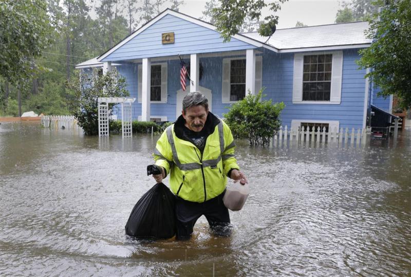 Avondklok ingesteld Houston tegen plunderingen