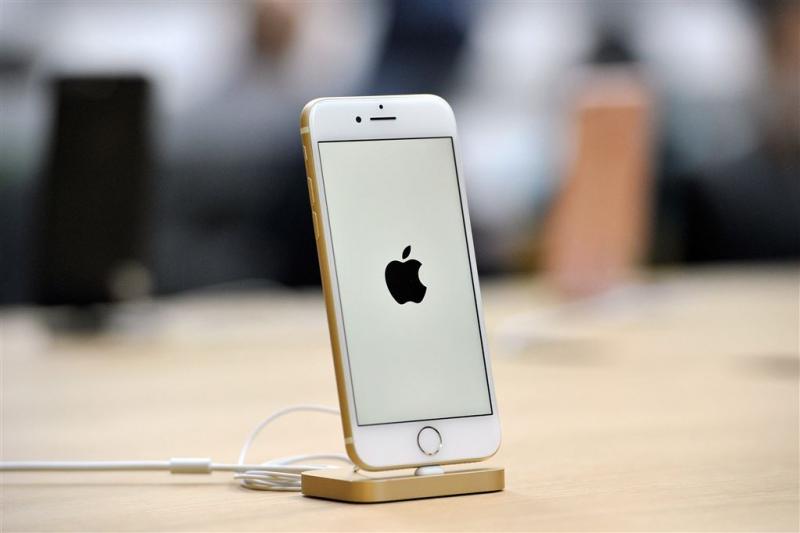 'Softwarebalk vervangt thuisknop iPhone 8'