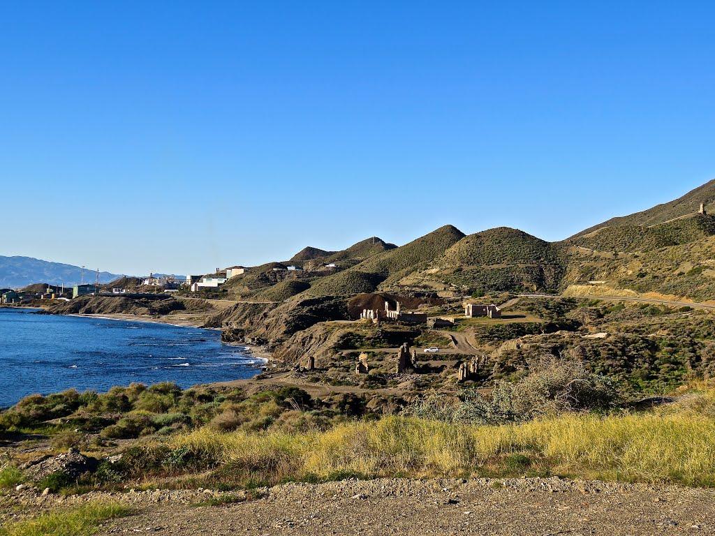 De kust bij Villaricos is mooi (Foto: Panoramio)