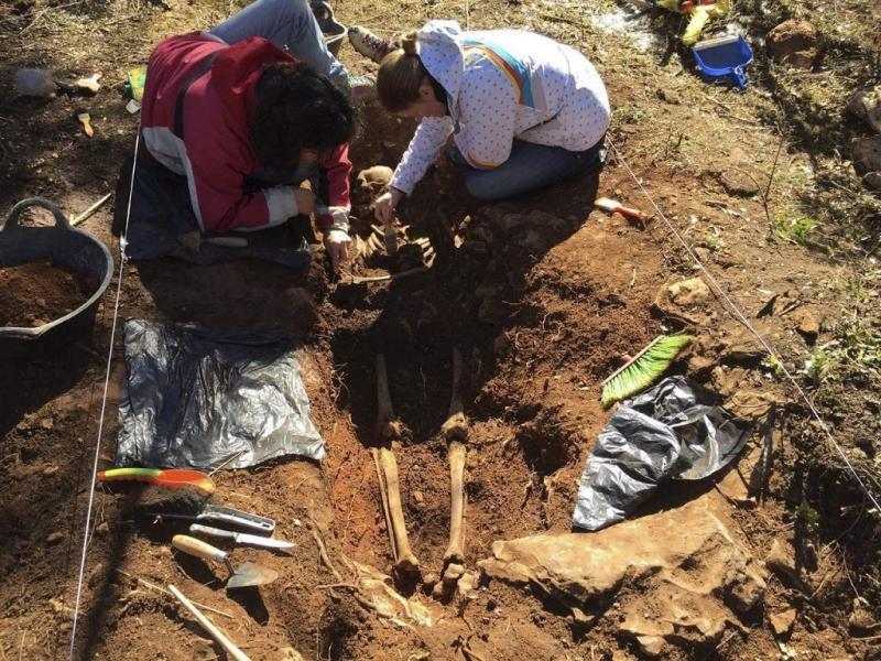Archeologen vinden Spaanse massagraven