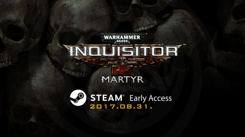 Warhammer 40K: Inquisitor - Martyr in Early Access