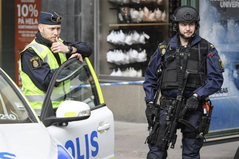 Agent in Stockholm neergestoken