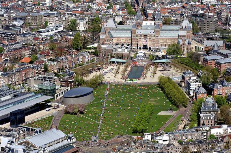 Attracties Amsterdam oefenen voor aanslag