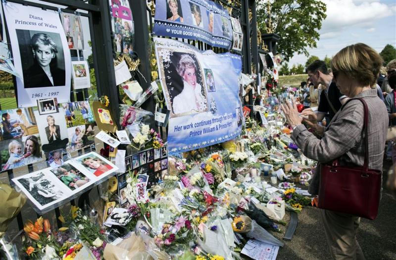 Britten herdenken prinses Diana