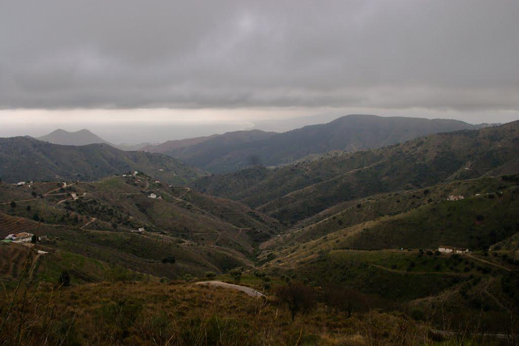 Weinig vlakke wegen te bekennen hier (Foto: Panoramio)