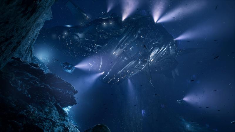 Aquanox - Mooi schip