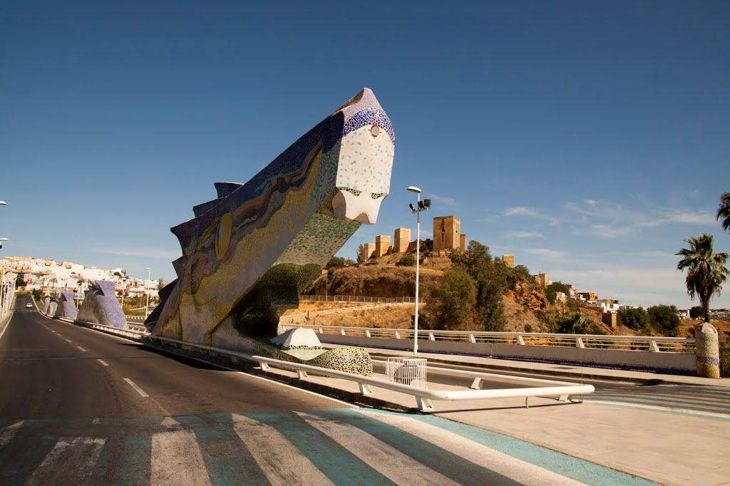 De drakenbrug van Alcalá (Foto: Panoramio)