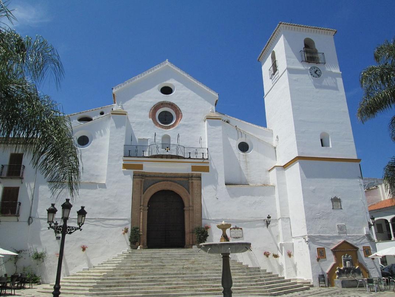 De kerk in Coín, eigenlijk het enige noemenswaardige hier (Foto: WikiCommons)