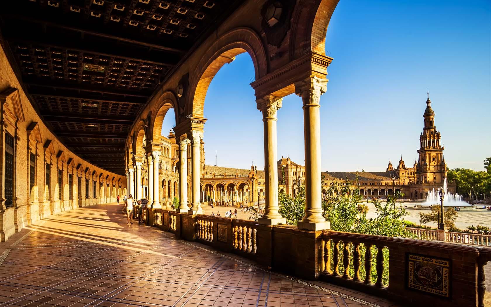 Een korte blik op Sevilla (Foto: Panoramio)