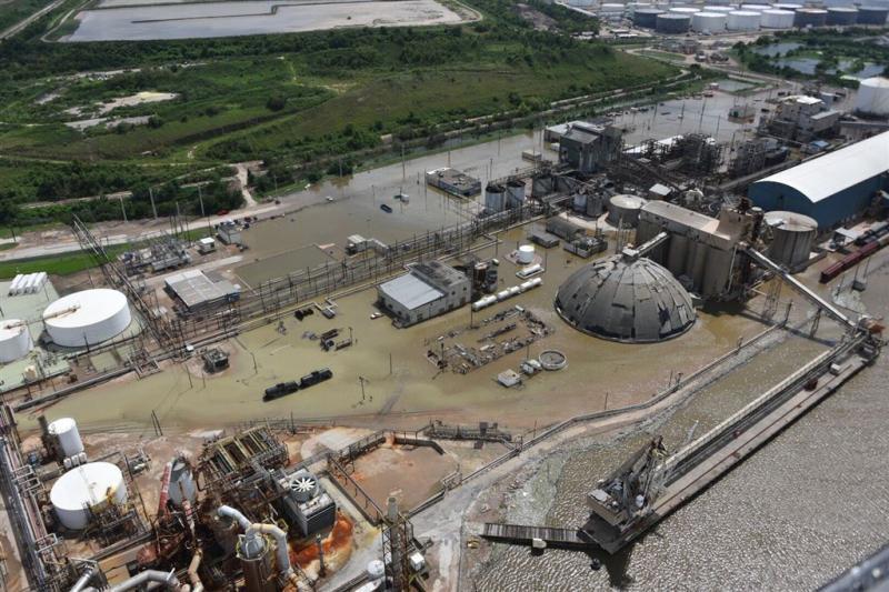 Opnieuw brand bij chemische fabriek Houston