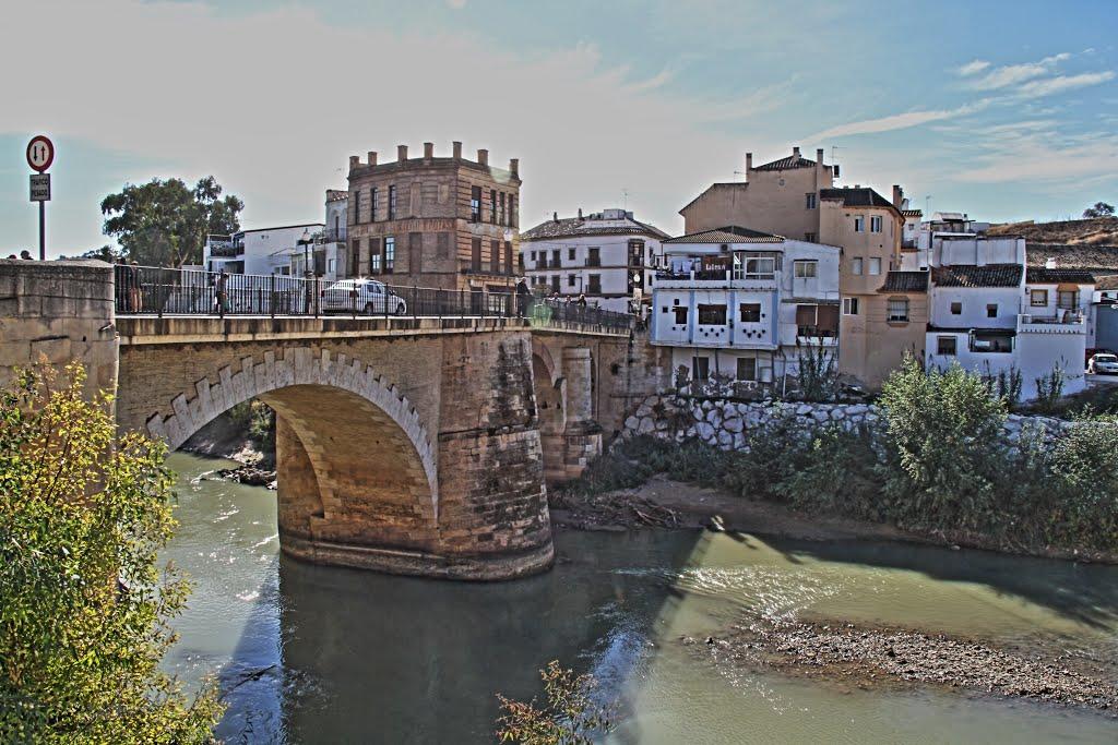 De brug over de Genil in Puente Genil (Foto: Panoramio)