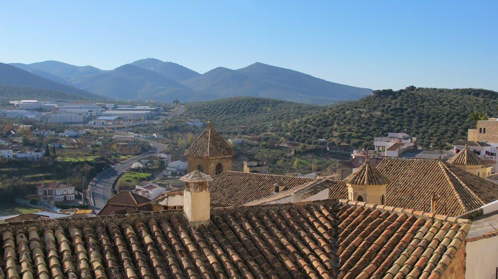 De tussensprint ligt in Alcalá la Real (Foto: Panoramio)