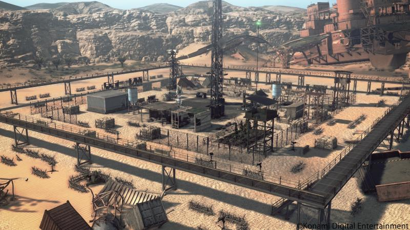 Metal Gear Survive - Upgraded Base Overview (Foto: Konami)
