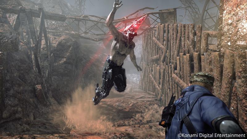 Metal Gear Survive - Zombie Jump (Foto: Konami)
