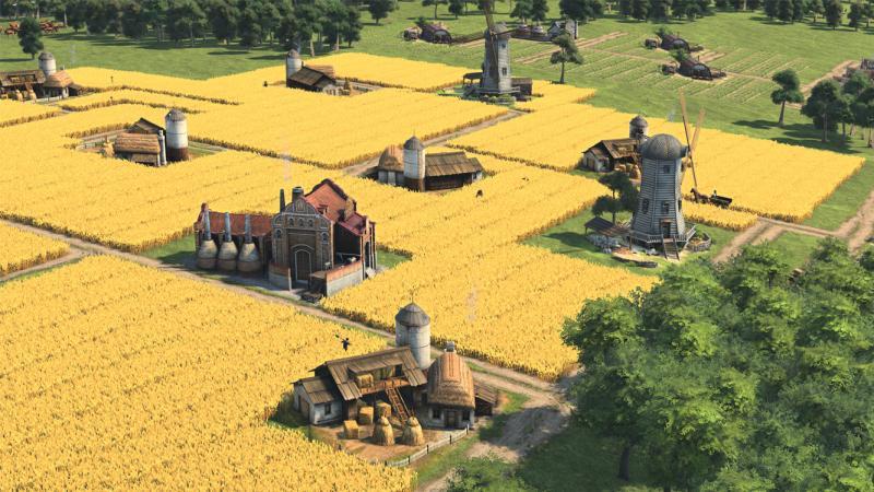 Anno 1800 - Graanvelden (Foto: Ubisoft)