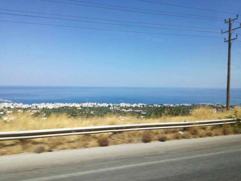 Papabear arriveerde vandaag op Kreta (Foto: Papabear)
