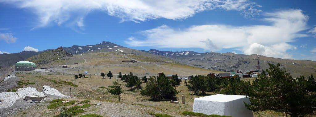 Grandioze omgeving in de Sierra Nevada (Foto: Panoramio)