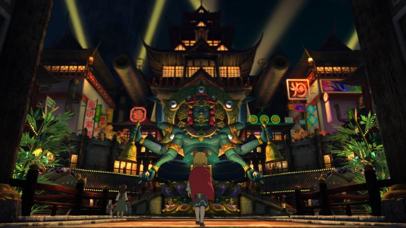 Ni no Kuni: Revenant Kingdom - Asianlike city (Foto: Bandai Namco)
