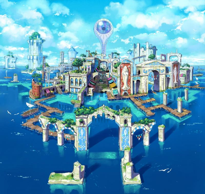 Ni no Kuni: Revenant Kingdom - Thalassea artwork (Foto: Bandai Namco)