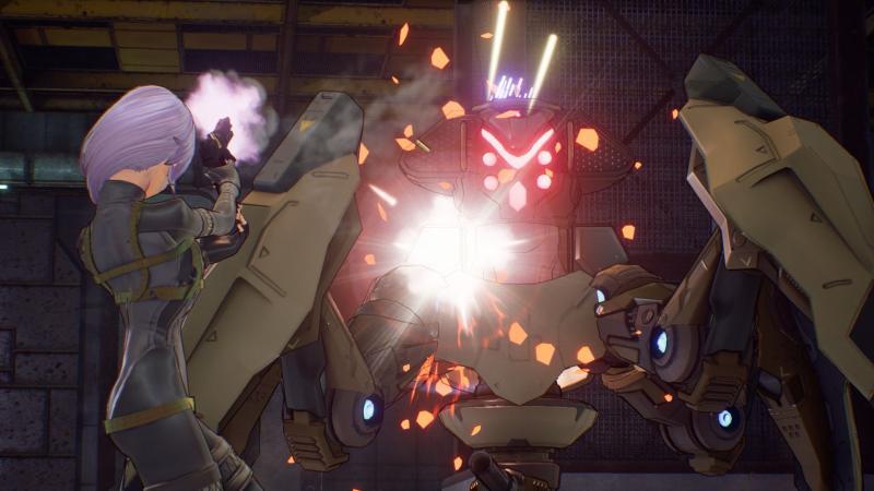Sword Art Online: Fatal Bullet - Robot Enemy (Foto: Bandai Namco)