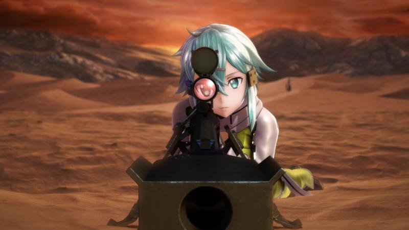 Sword Art Online: Fatal Bullet - Sinon (Foto: Bandai Namco)