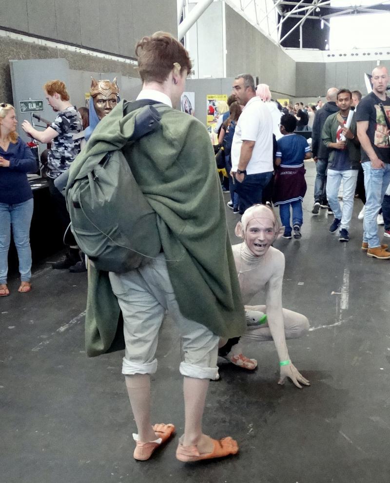 Filthy, dirty Hobbitses! (Foto: Lisanne van de Bunt)