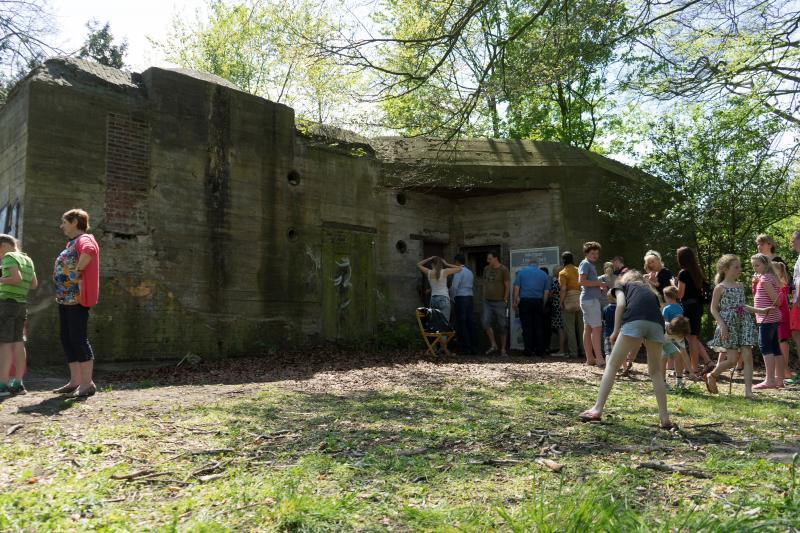 Bunker R616 in de Alkmaarder Hout (Foto: Marco Schilpp)