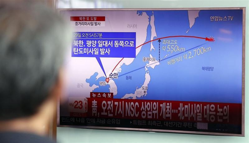 'Noord-Korea bereidt meer raketproeven voor'