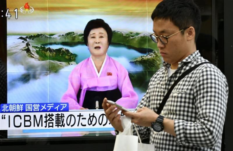 Zuid-Korea reageert met militaire oefening