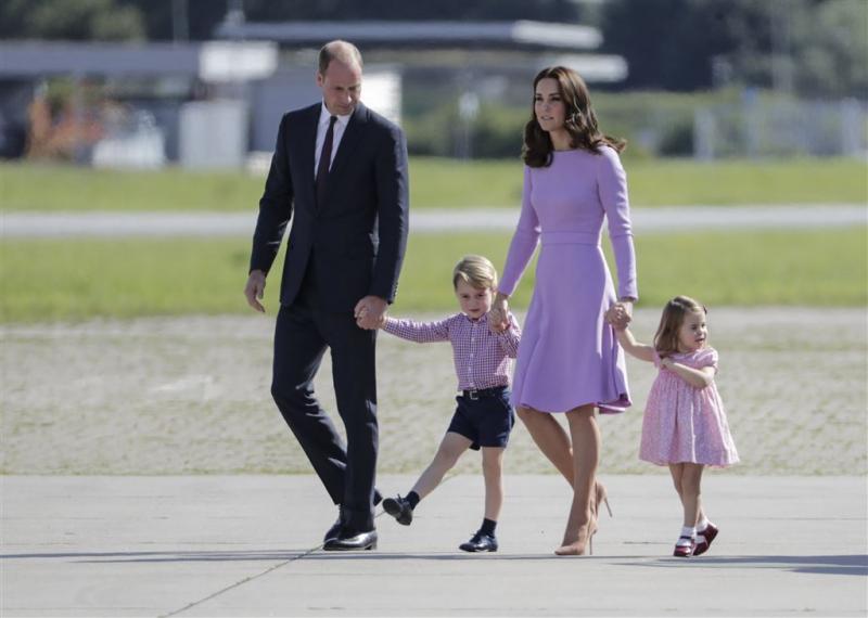 Derde kind op komst voor Kate en William