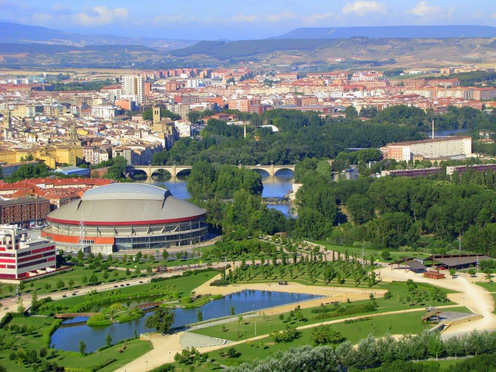Logroño, de finishplaats van vandaag (Foto: Panoramio)