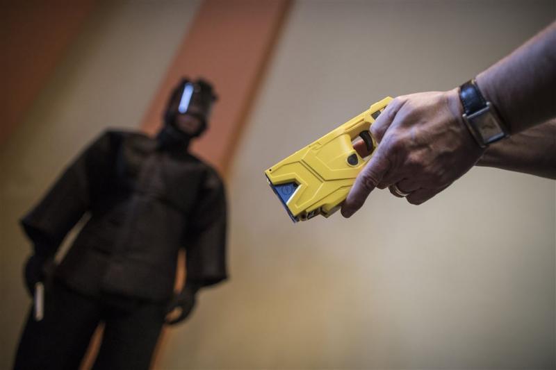 Amnesty: politie gebruikt Taser te lichtzinnig