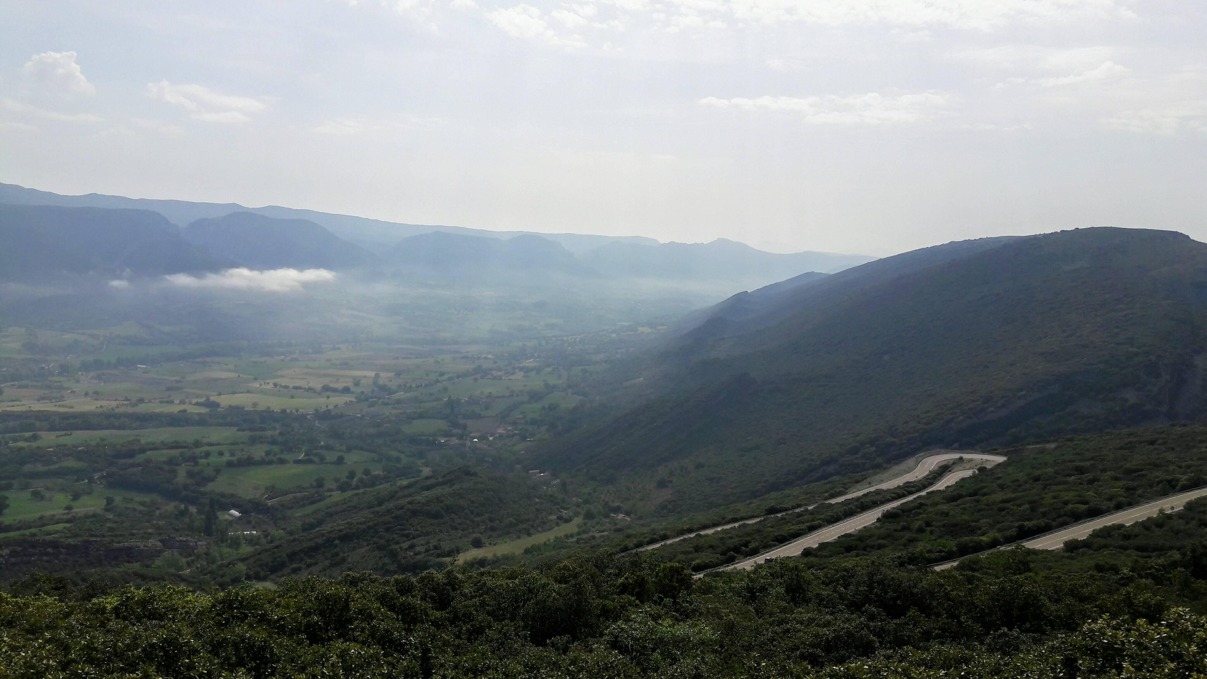 Een spookachtige blik op de vallei (Foto: Panoramio)