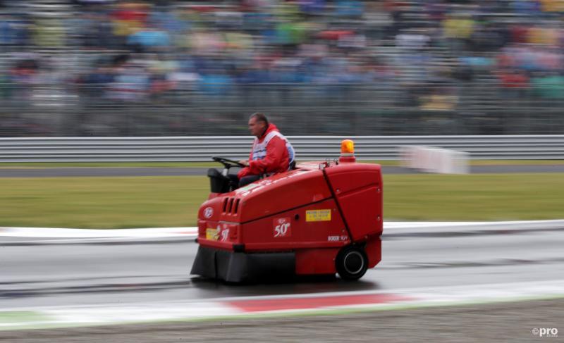 We zagen deze bijzondere bolide op het circuit van Monza tijdens de Grand Prix van Italië, wat is hier gaande? (Pro Shots / Action Images)