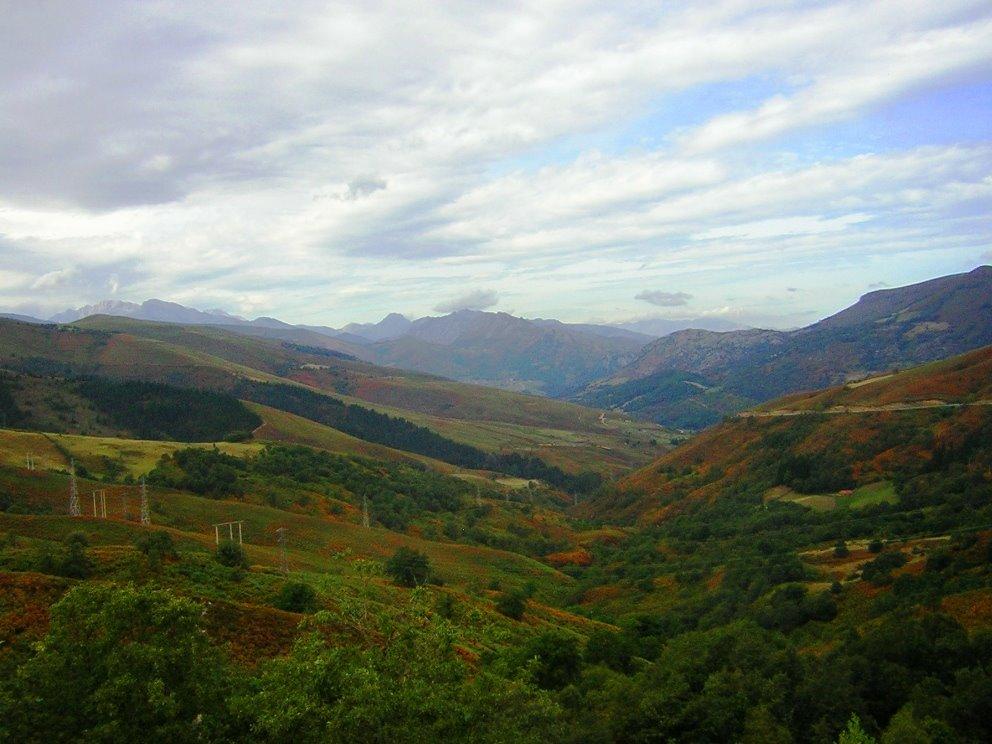 Een glooiend landschap, vooralsnog (Foto: Panoramio)