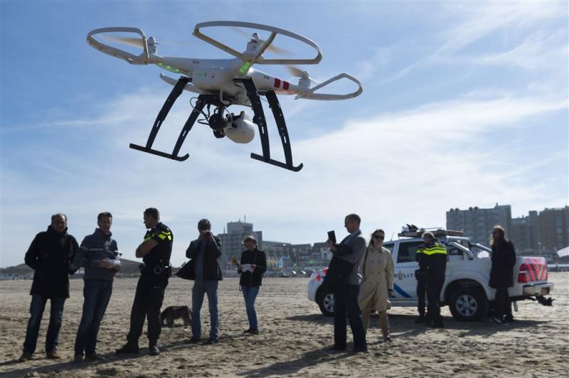 Hulpdiensten gaan meer samenwerken met drones