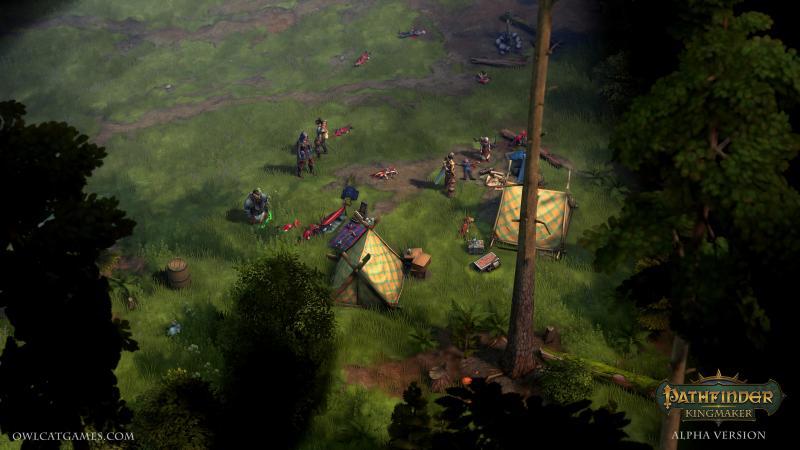 Pathfinder: Kingmaker - Kamp