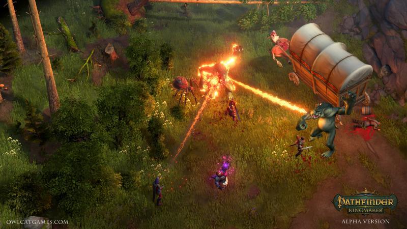 Pathfinder: Kingmaker - Gevecht