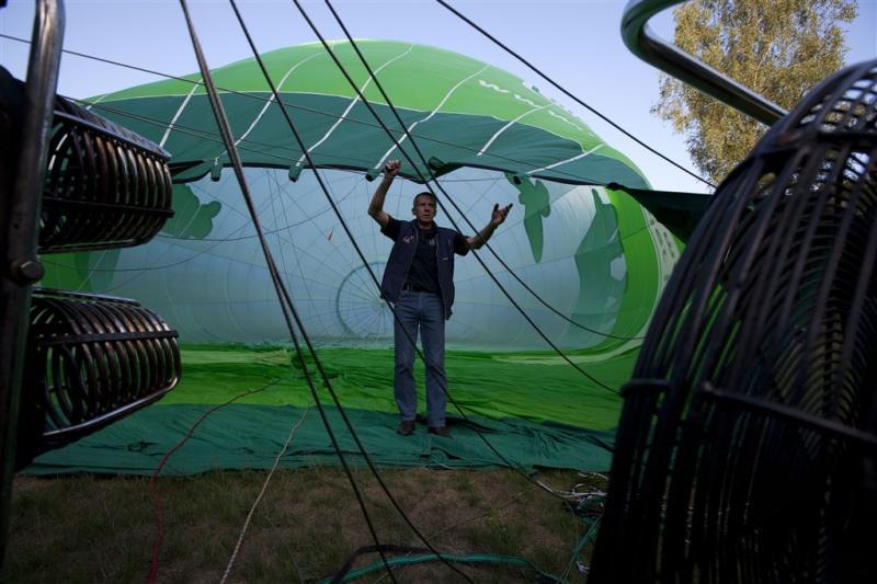 Gewonden door neerstorten luchtballon